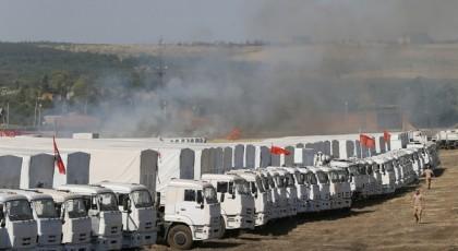 8 февраля РФ отправит на Донбасс очередную гуманитарную автоколонну